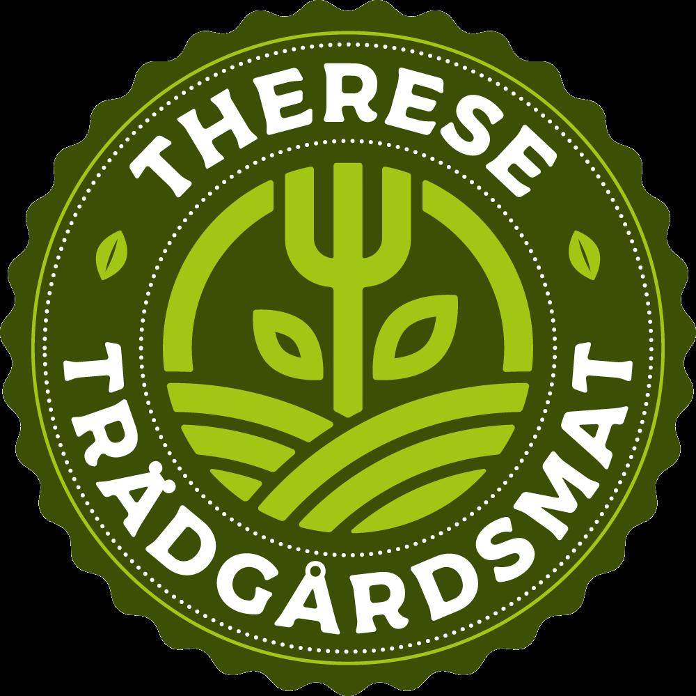 Therese trädgårdsmat logga